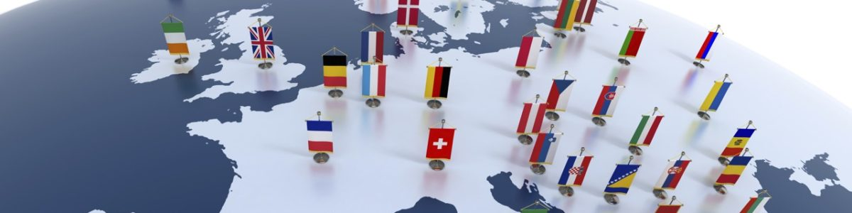 European-map-with-national-flags